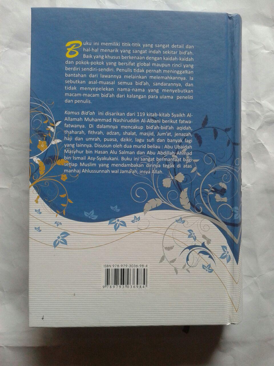 Buku Kamus Bid'ah Disarikan Dari Buku Buku Syaikh Al-Albani 240,000 20% 192,000 cover