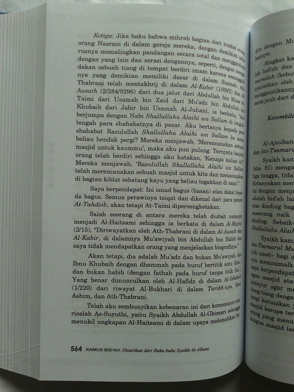 Buku Kamus Bid'ah Disarikan Dari Buku Buku Syaikh Al-Albani 240,000 20% 192,000 isi 2