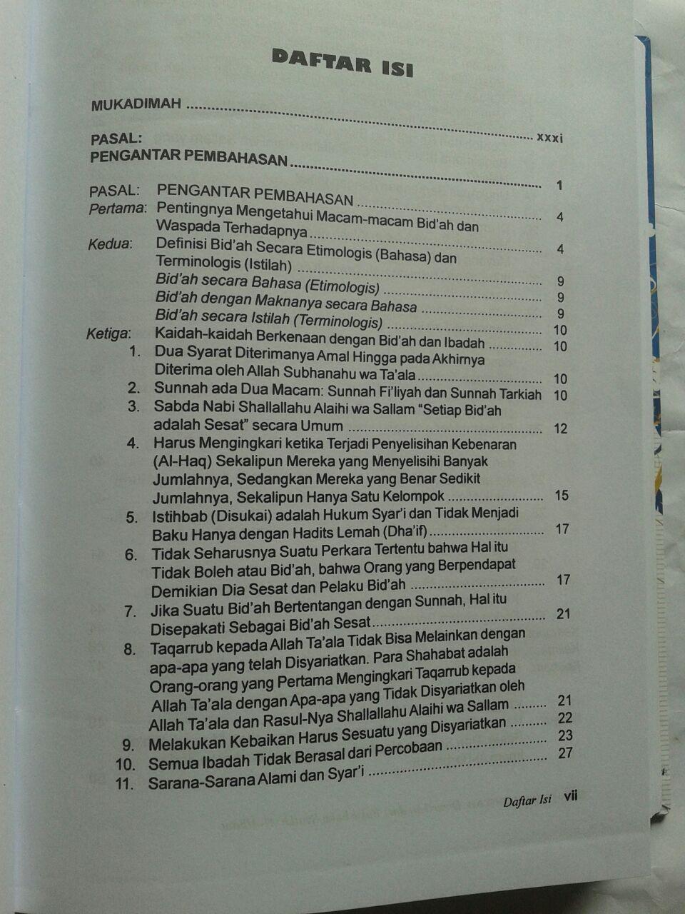 Buku Kamus Bid'ah Disarikan Dari Buku Buku Syaikh Al-Albani 240,000 20% 192,000 isi 5