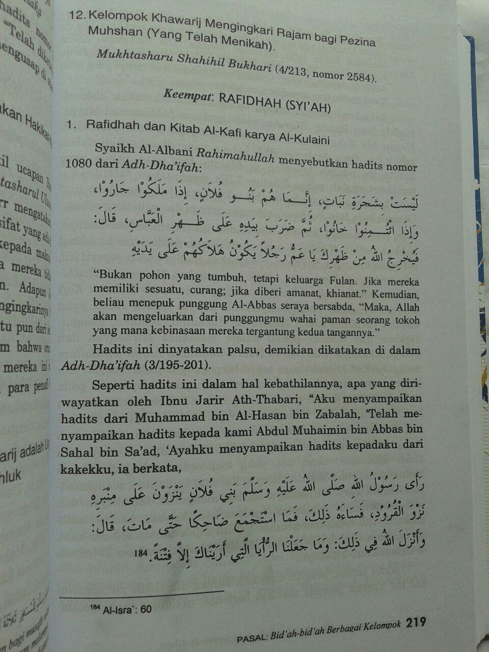 Buku Kamus Bid'ah Disarikan Dari Buku Buku Syaikh Al-Albani 240,000 20% 192,000 isi