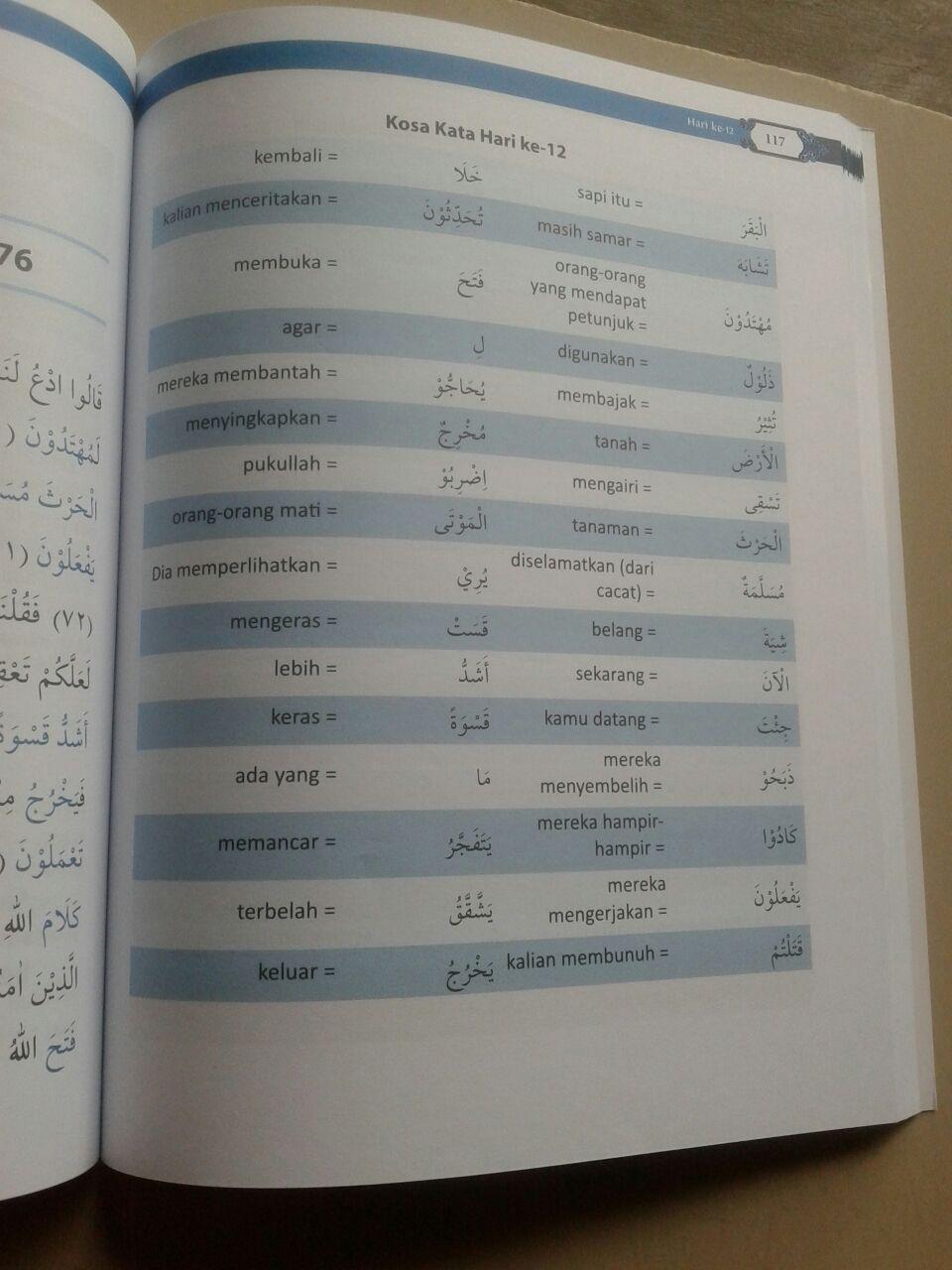 Buku 20 Hari Bisa Paham Al-Qur'an Dengan Tafsirnya Metode 3 IN 1 isi 3