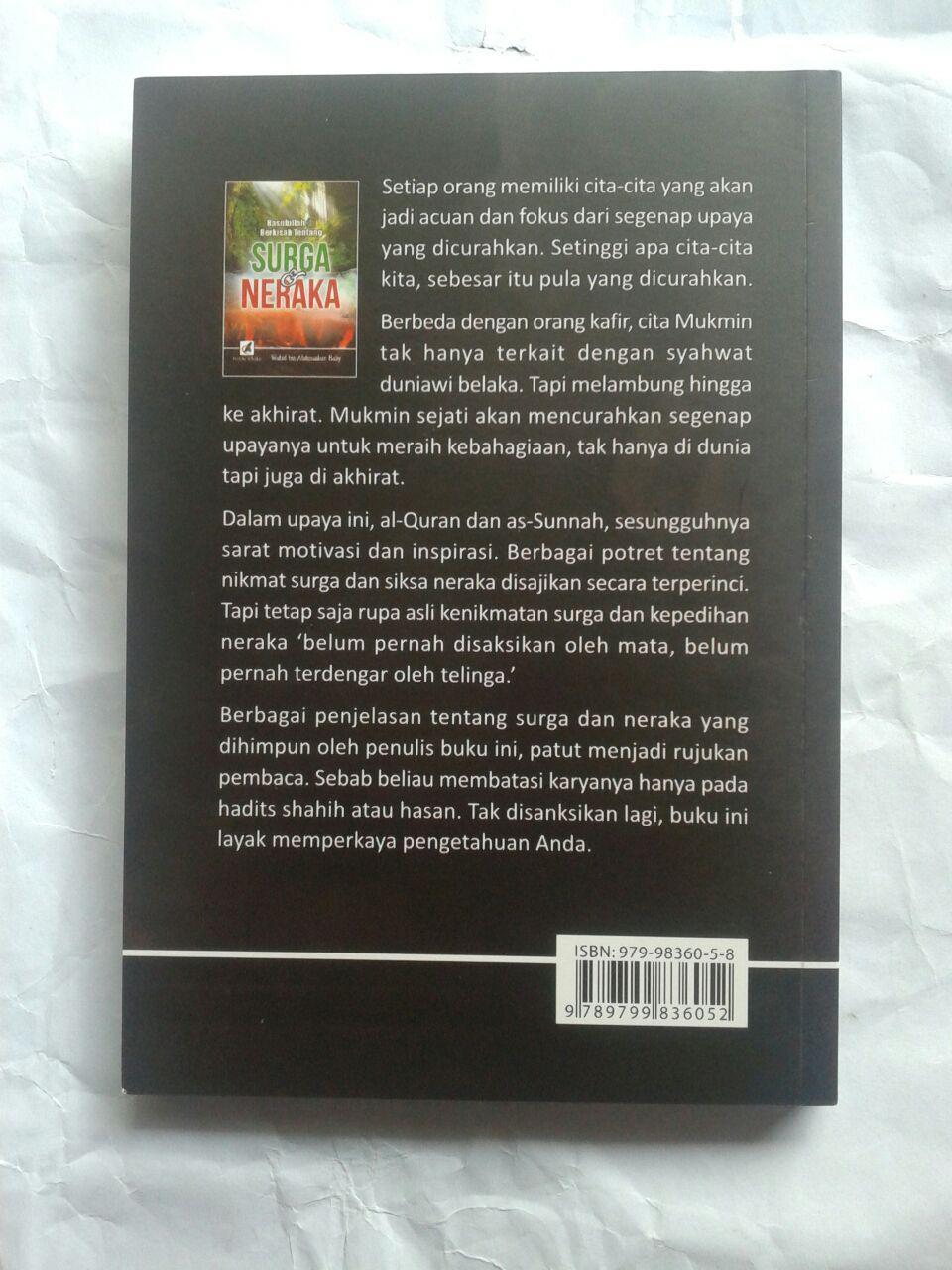 Buku Rasulullah Berkisah Tentang Surga & Neraka 25,000 15% 21,250 cover