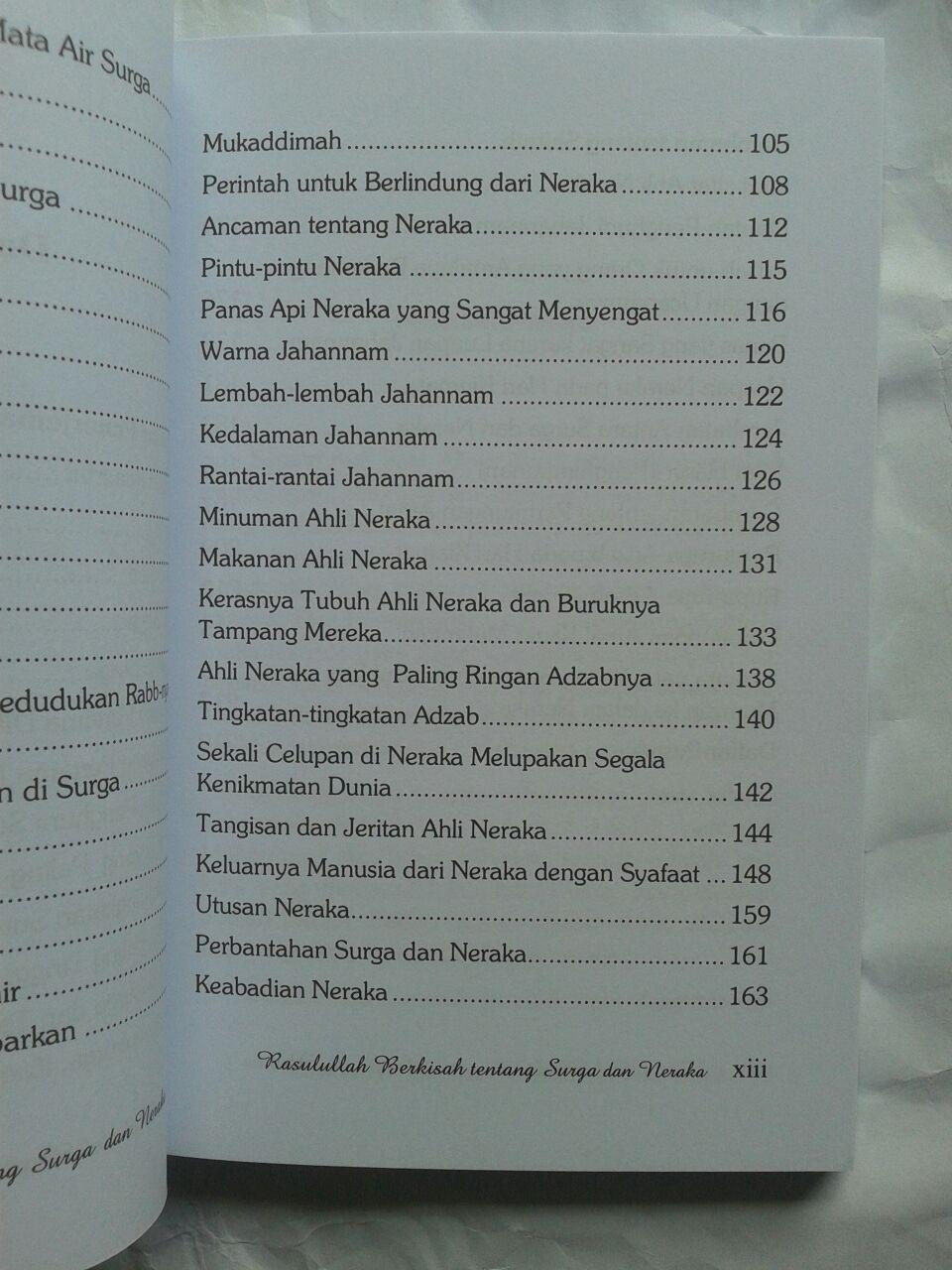Buku Rasulullah Berkisah Tentang Surga & Neraka 25,000 15% 21,250 isi 2