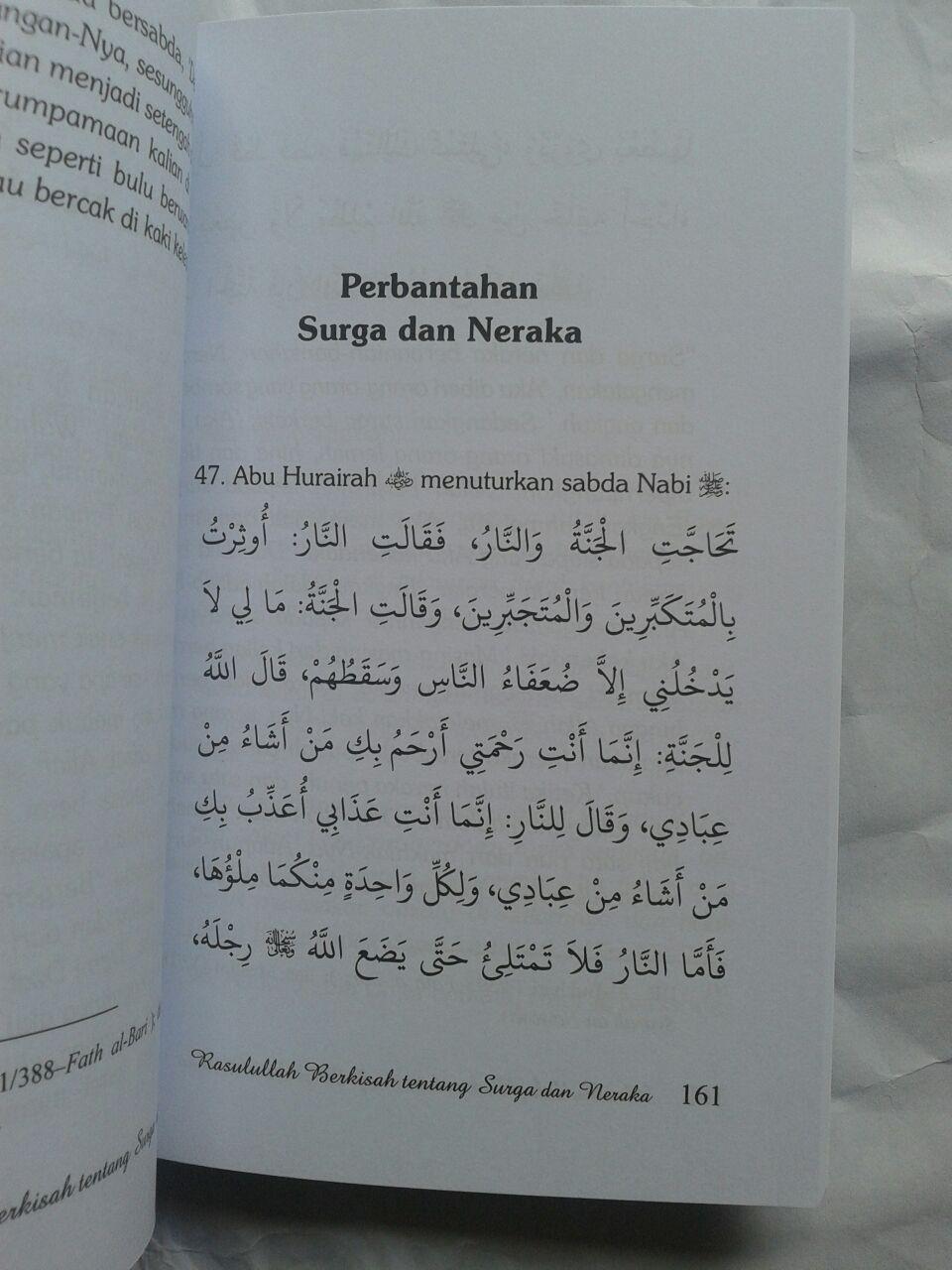 Buku Rasulullah Berkisah Tentang Surga & Neraka 25,000 15% 21,250 isi