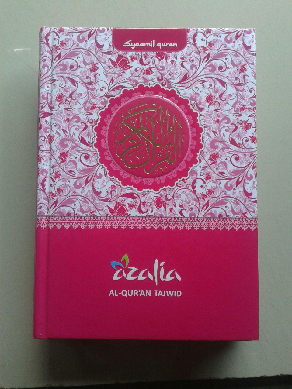 Al-Qur'an Mushaf Tajwid Azalia Dilengkapi Asbabun Nuzul Fadhilah Ayat cover