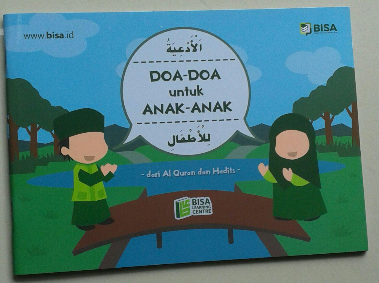 Buku Doa Doa Untuk Anak Anak Dari Al-Qur'an Dan Hadits cover
