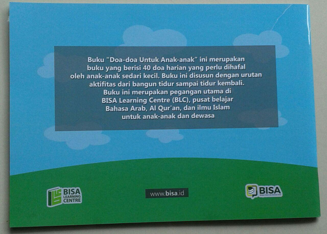 Buku Doa Doa Untuk Anak Anak Dari Al-Qur'an Dan Hadits cover 2