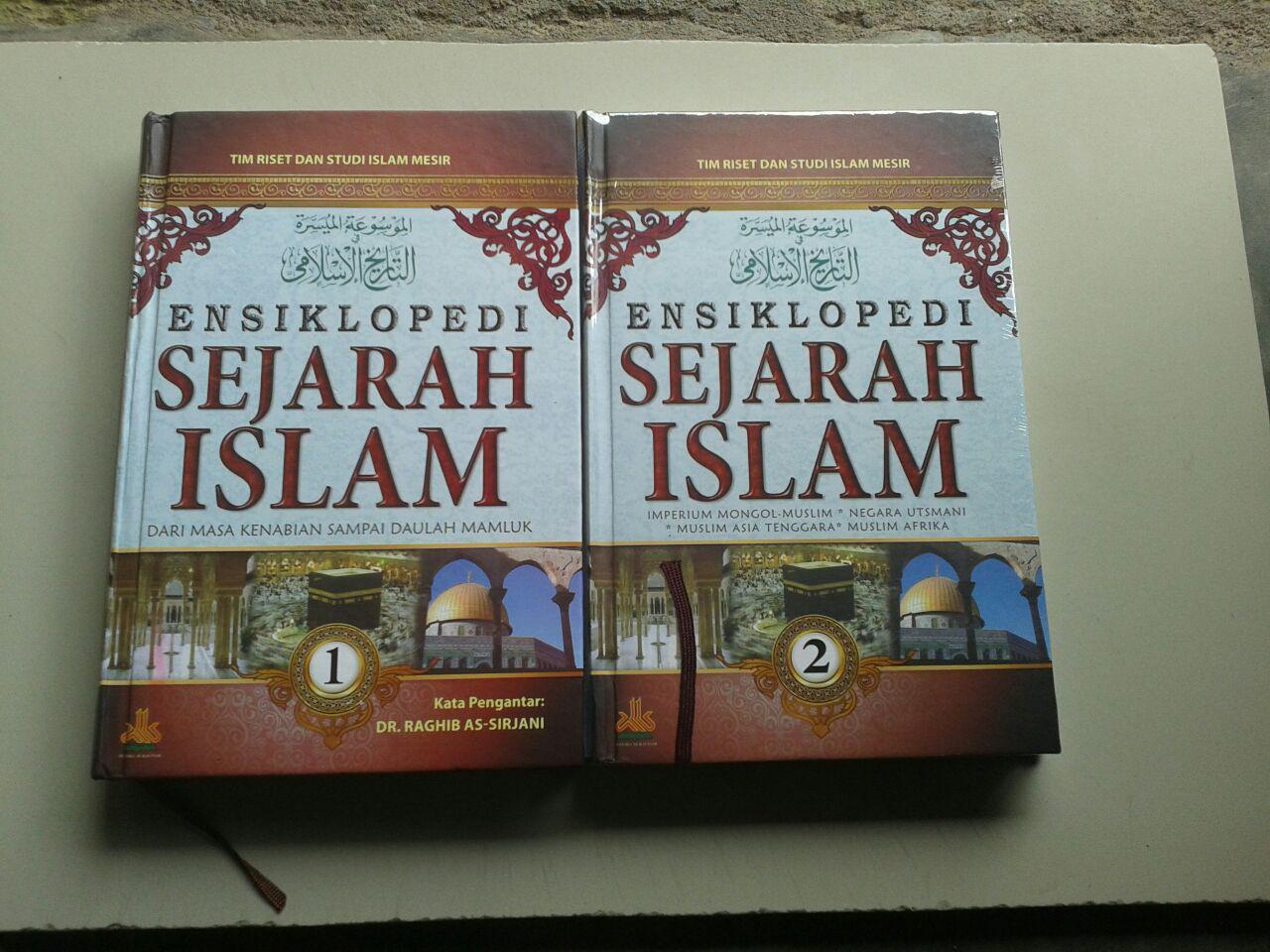 Buku Ensiklopedi Sejarah Islam Masa Kenabian-Daulah Mamluk set 2 Jilid cover 2
