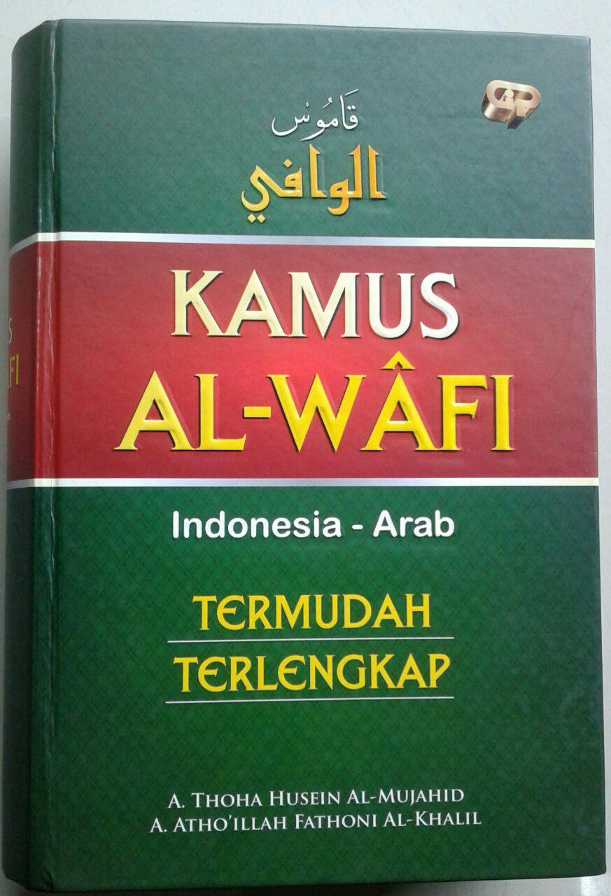 Buku Kamus Al-Wafi Indonesia-Arab Termudah Terlengkap cover 2