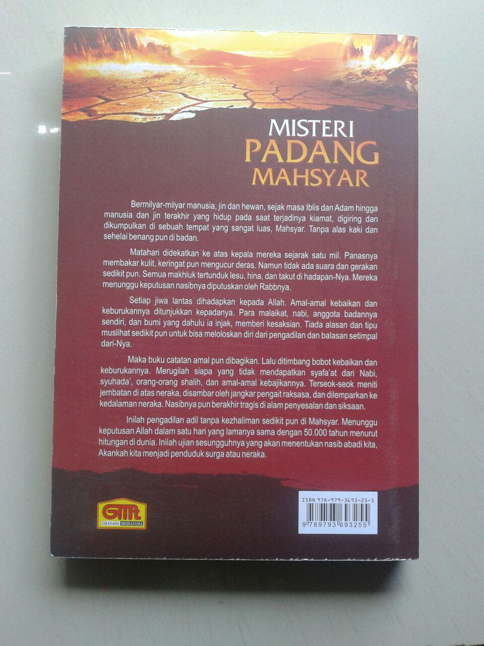 Buku Misteri Padang Mahsyar cover