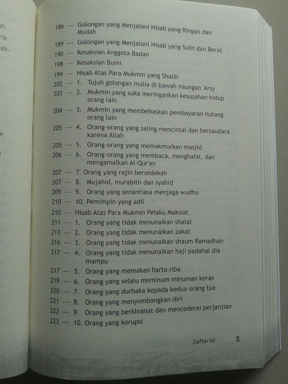 Buku Misteri Padang Mahsyar isi