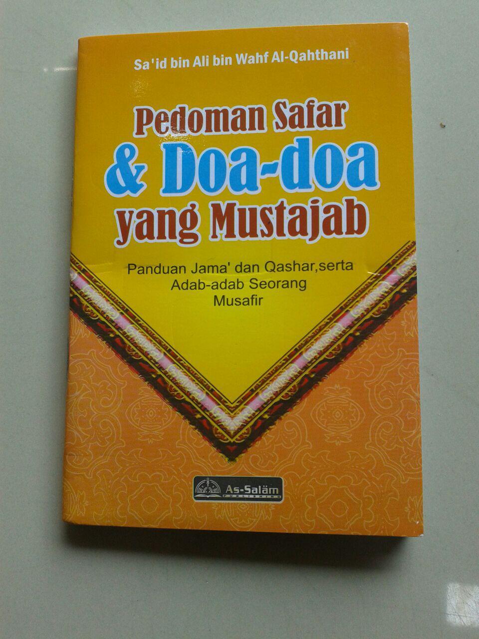 Buku Saku Pedoman Safar Doa Doa Yang Mustajab & Adab Adab Musafir cover