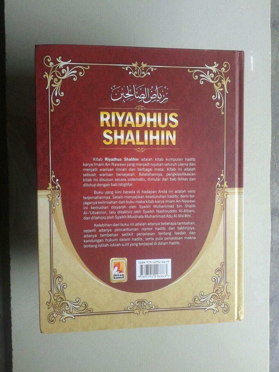 Buku Terjemah Riyadhus Shalihin cover