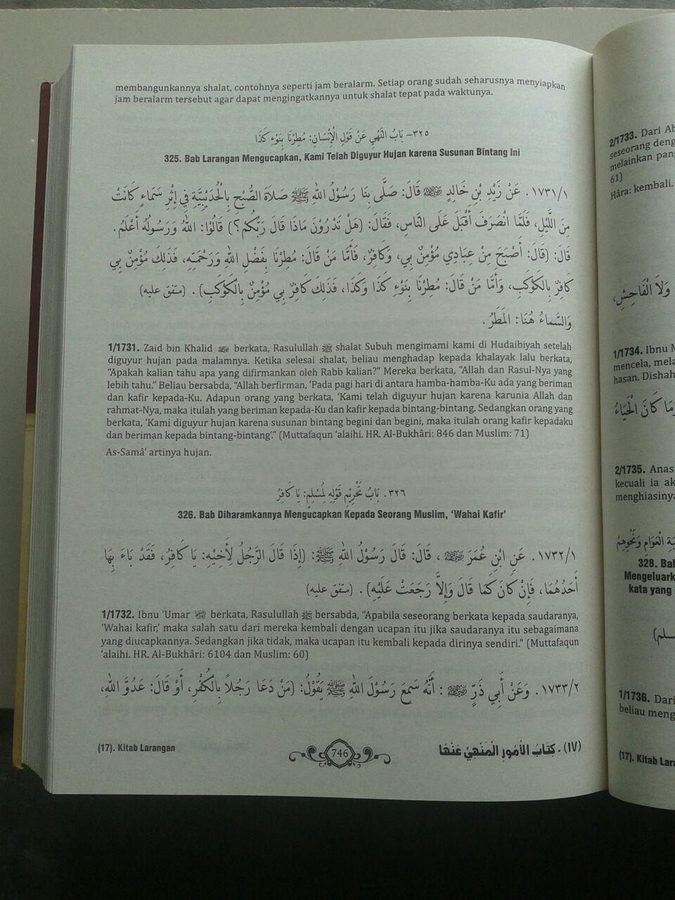 Buku Terjemah Riyadhus Shalihin isi 3