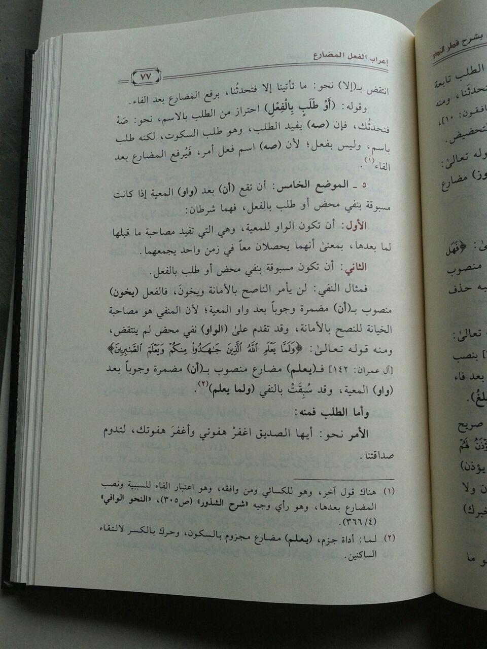 Kitab Ta'jilun Nada Bi Syarhi Qathrin Nada isi 2