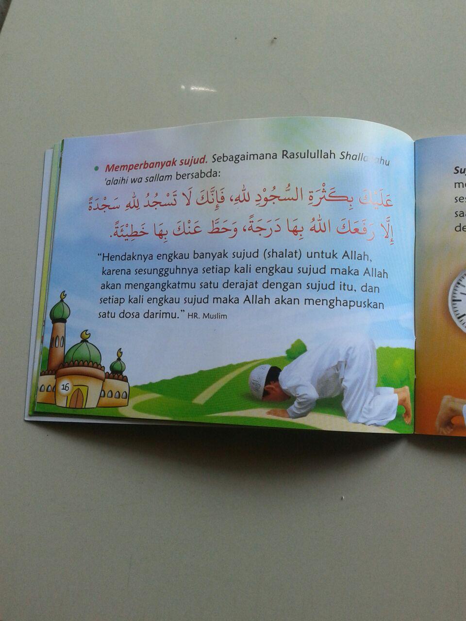 Buku Saku Anak Wahai Adik Adik Cintailah Allah Ta'ala isi