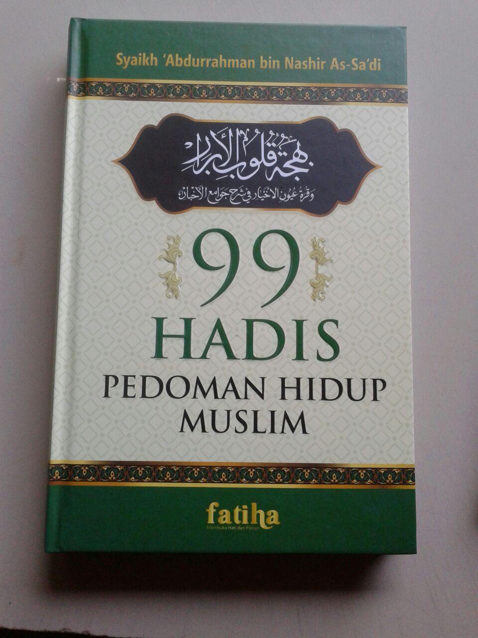 Buku 99 Hadis Pedoman Hidup Muslim cover 2