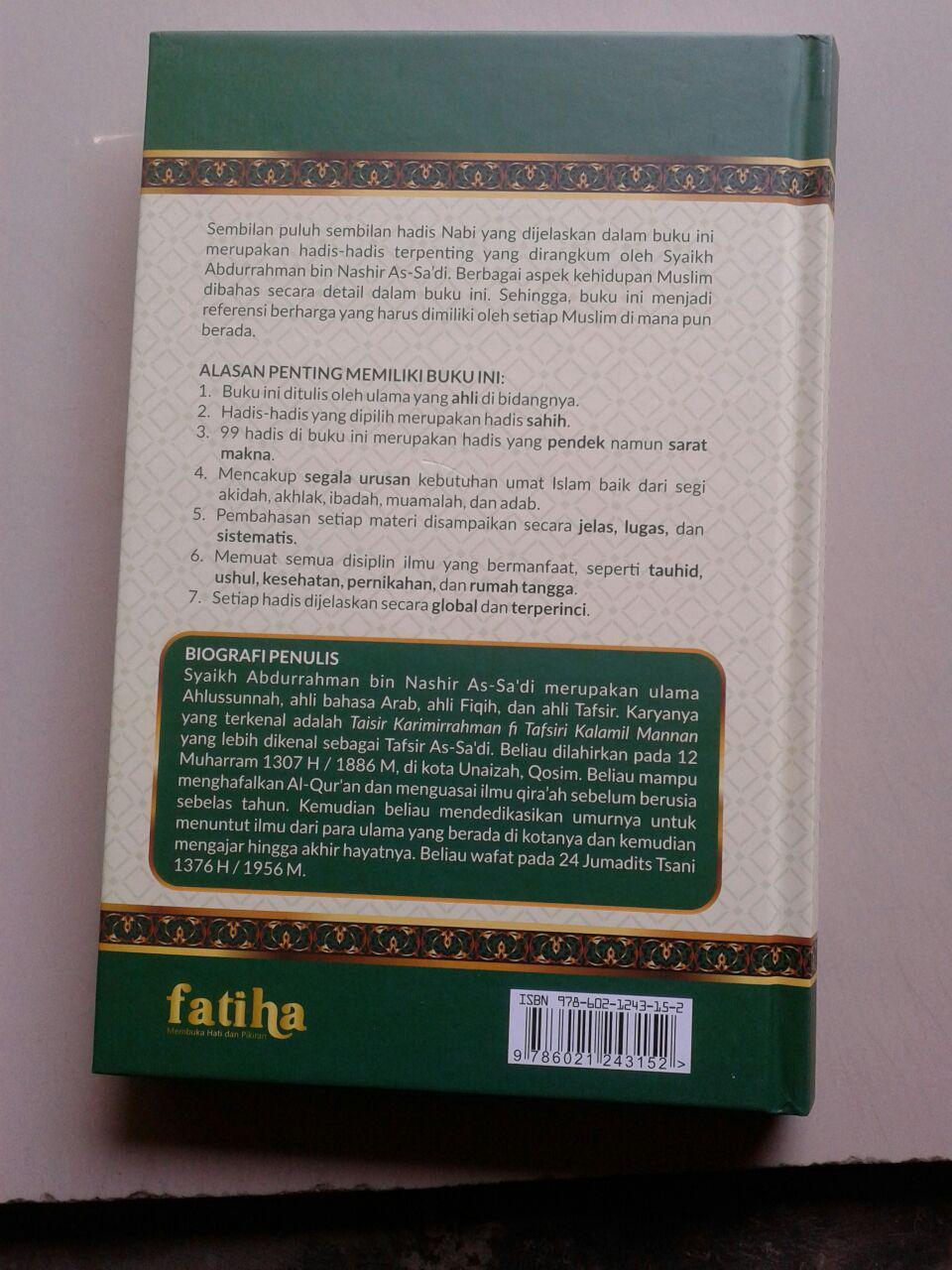 Buku 99 Hadis Pedoman Hidup Muslim cover