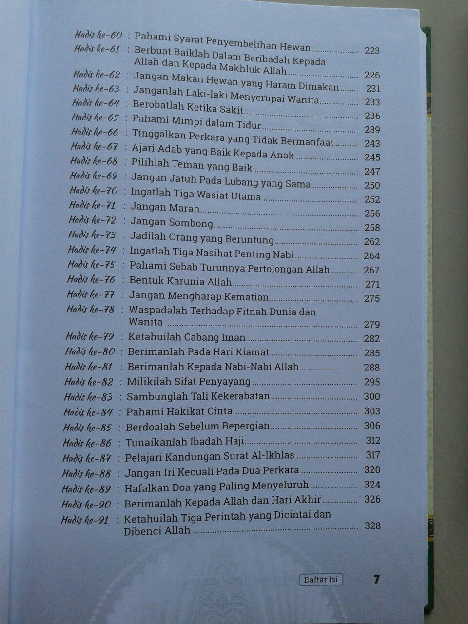 Buku 99 Hadis Pedoman Hidup Muslim isi 2