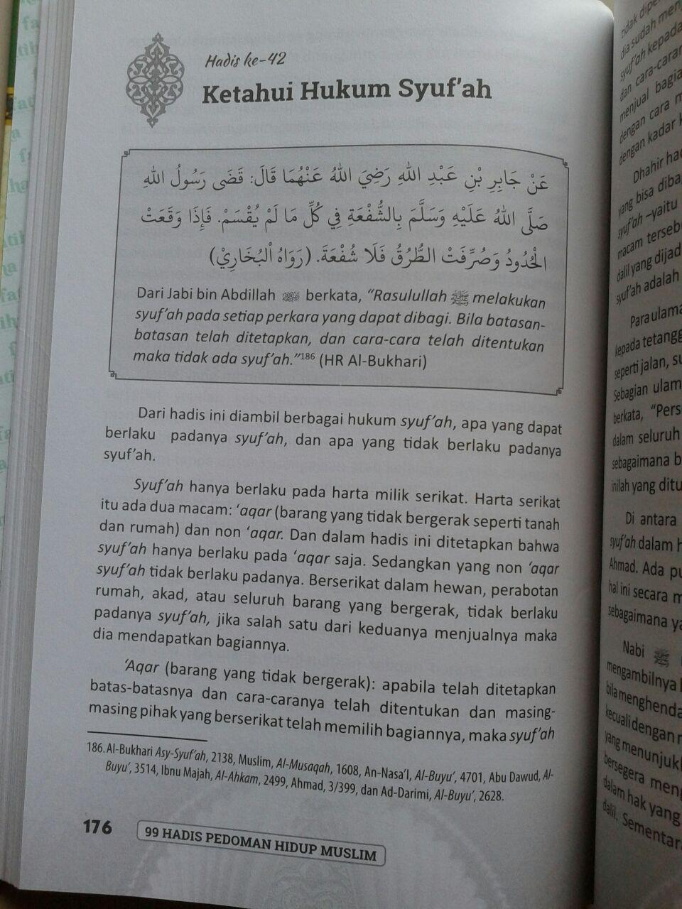 Buku 99 Hadis Pedoman Hidup Muslim isi 4