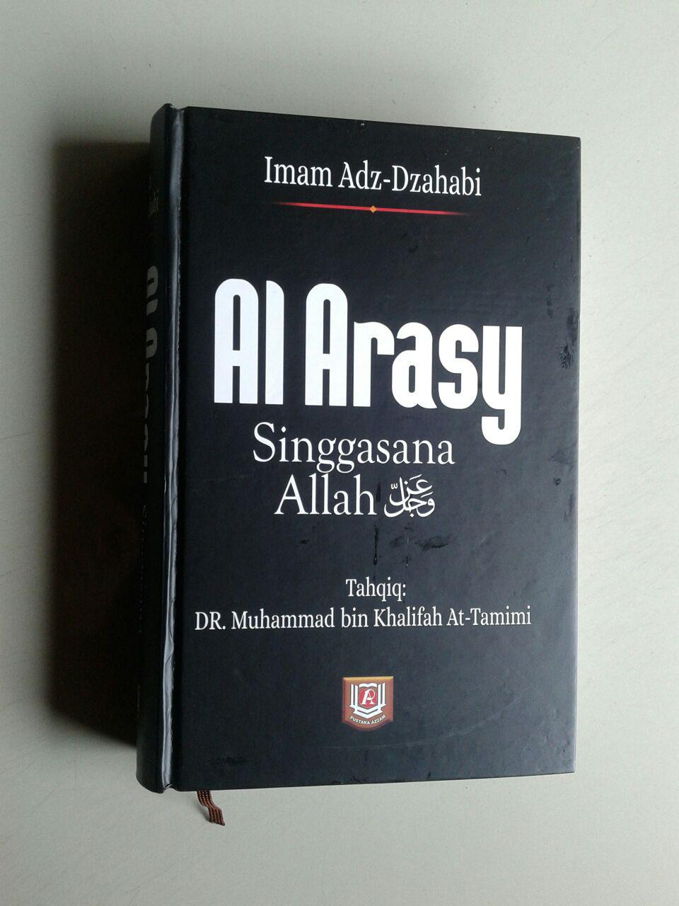 Buku Al Arasy Singgasana Allah Ta'ala cover