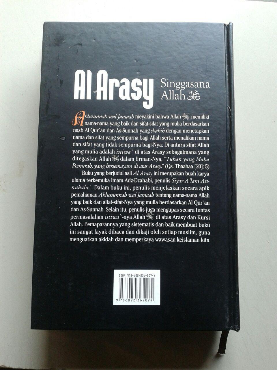 Buku Al Arasy Singgasana Allah Ta'ala