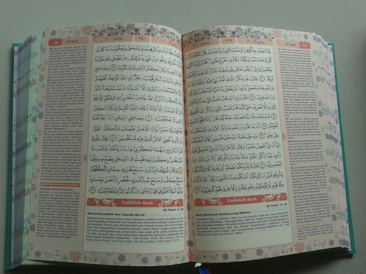 Al-Qur'an Mushaf & Terjemah Yasmina Ukuran B6 isi 2