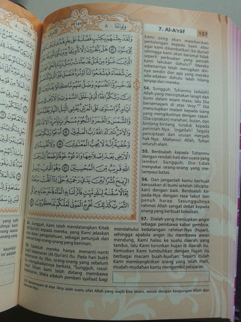 Al-Qur'an Mushaf Terjemah Yasmina Sampul Kancing Magnet Ukuran B6 isi 3
