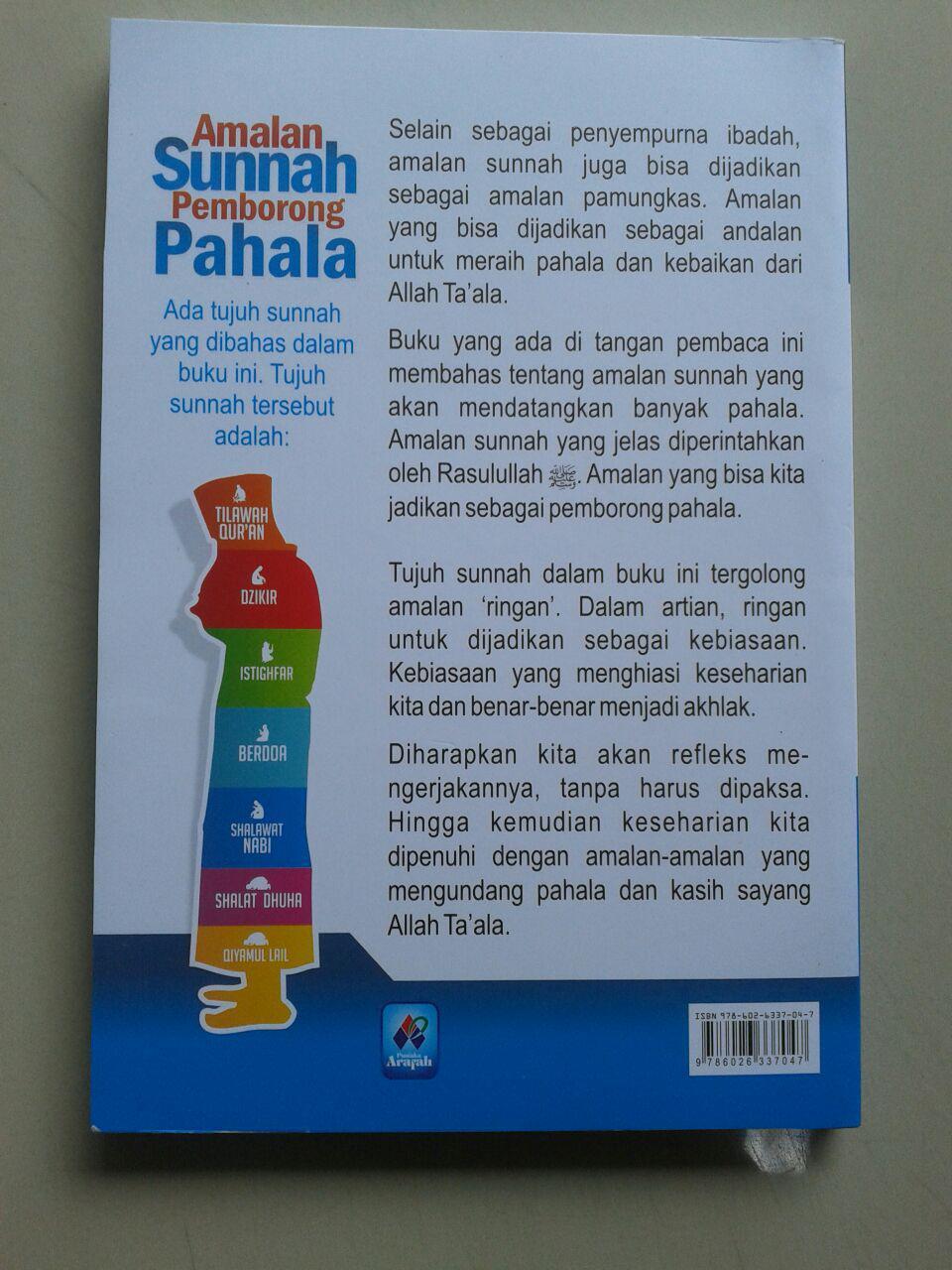 Buku Amalan Sunnah Pemborong Pahala cover