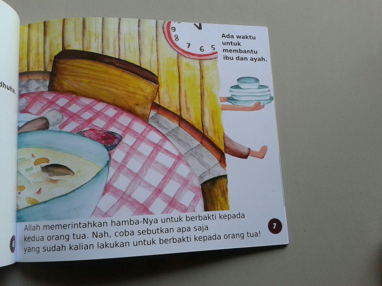 Buku Anak Atur Waktumu Dengan Baik isi