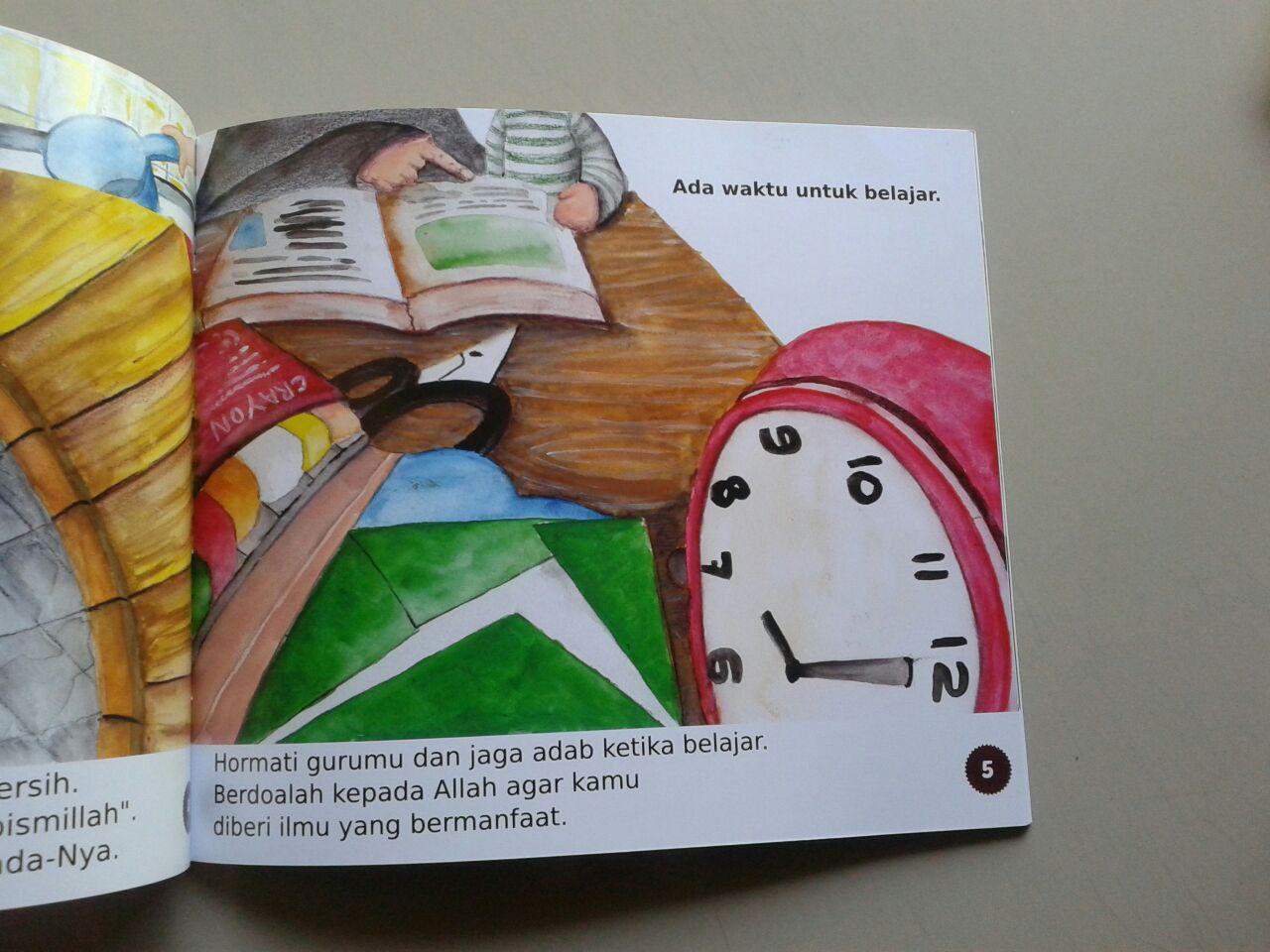 Buku Anak Atur Waktumu Dengan Baik isi 2