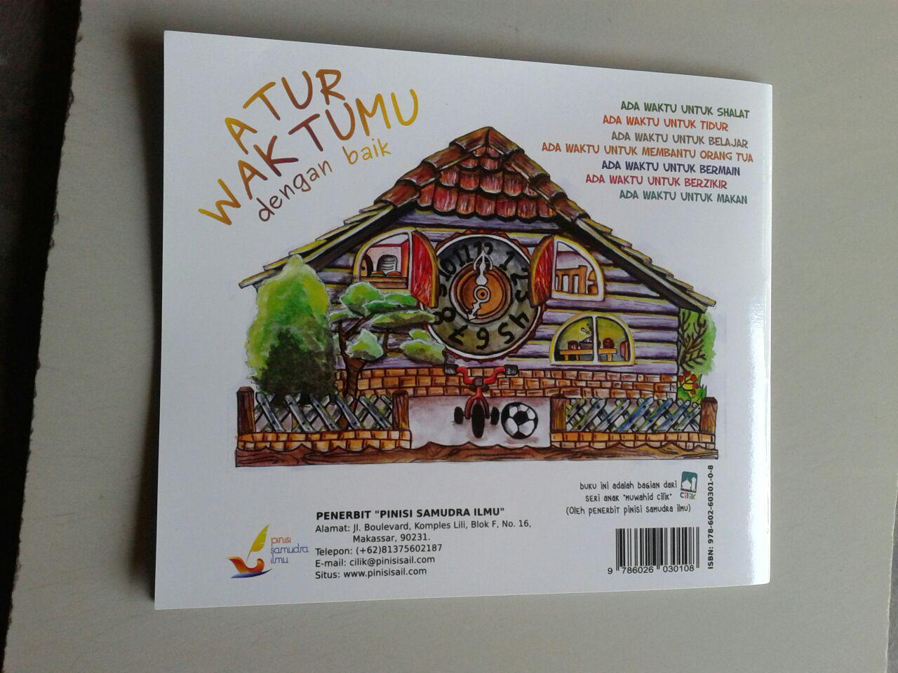 Buku Anak Atur Waktumu Dengan Baik cover 2