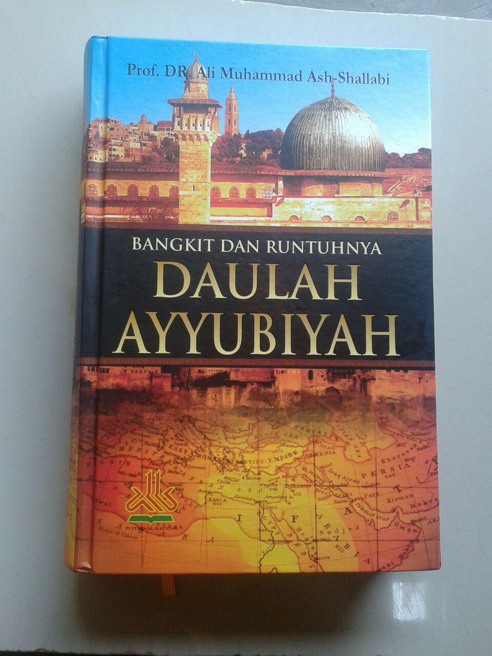 Buku Bangkit Runtuhnya Daulah Ayyubiyah cover 2