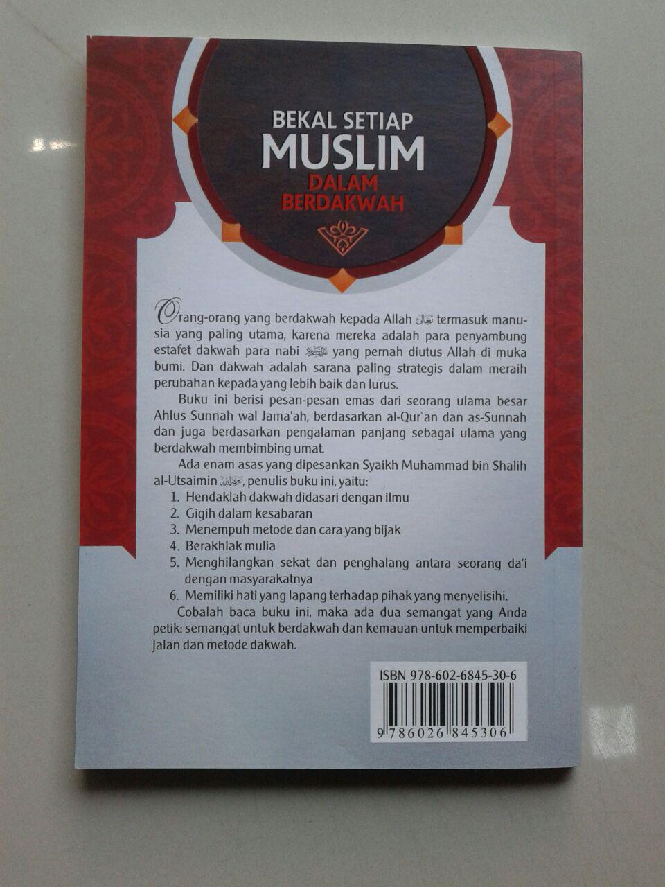 Buku Saku Bekal Setiap Muslim Berdakwah Agar Dakwah Mudah Diterima cover