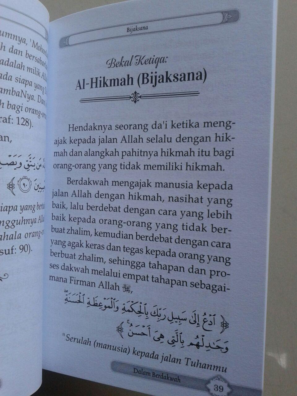 Buku Saku Bekal Setiap Muslim Berdakwah Agar Dakwah Mudah Diterima isi 2
