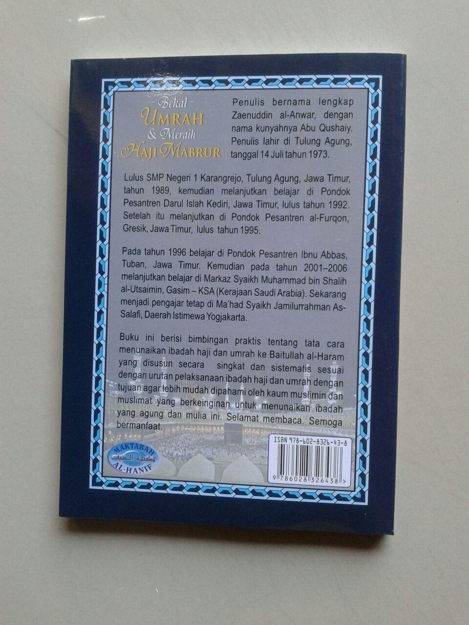 Buku Saku Bekal Umrah & Meraih Haji Mabrur cover