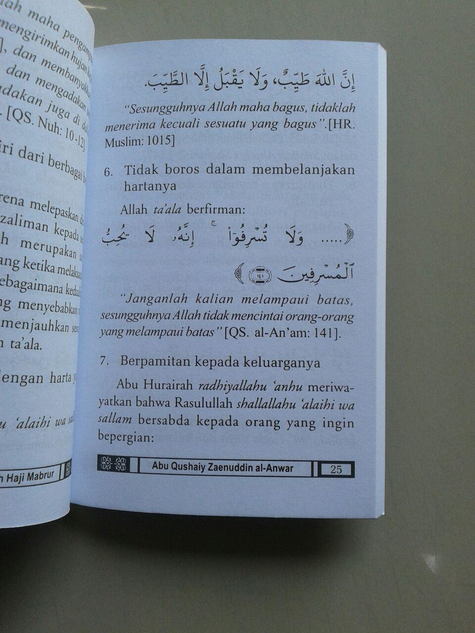 Buku Saku Bekal Umrah & Meraih Haji Mabrur isi 2
