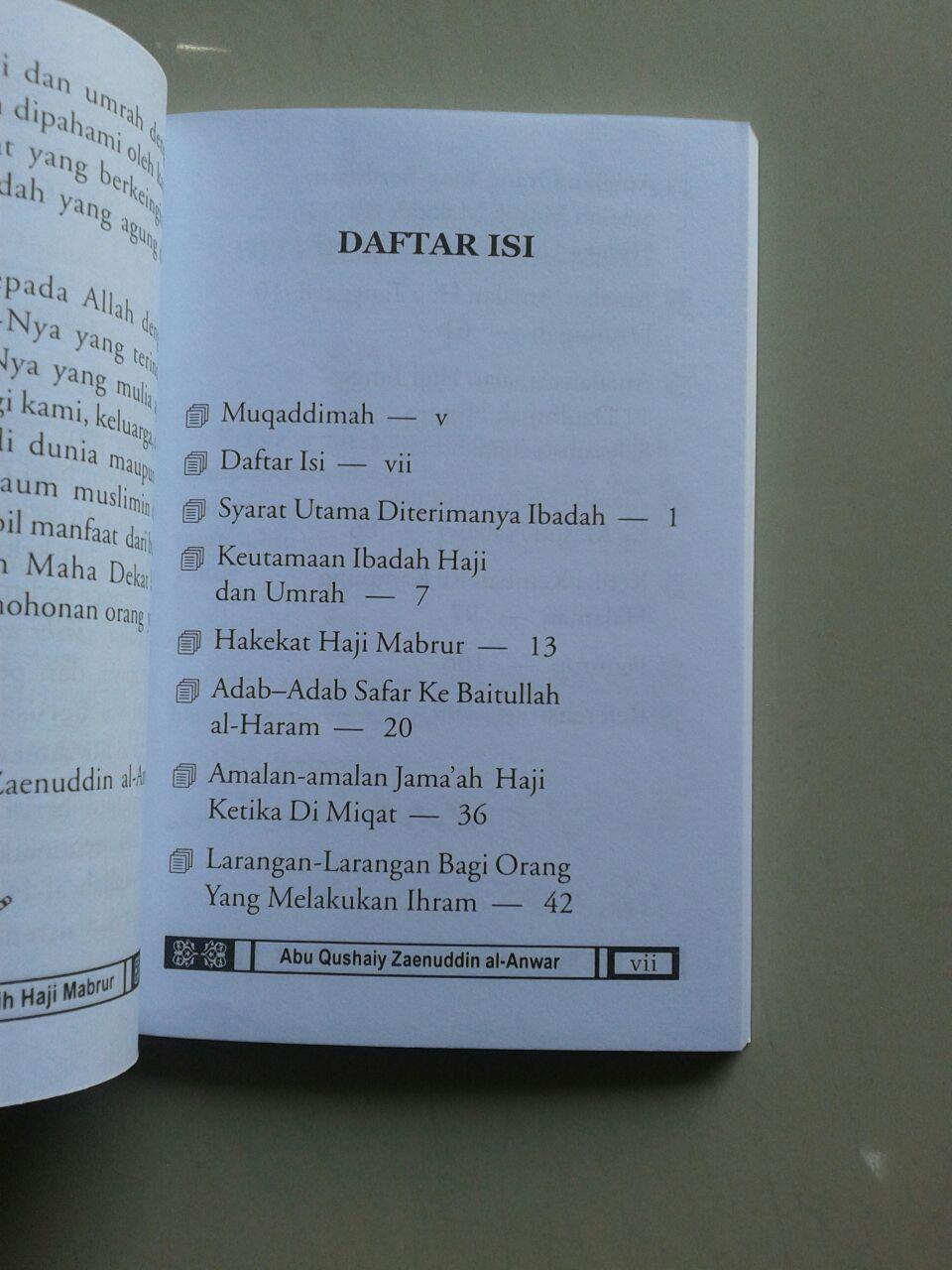 Buku Saku Bekal Umrah & Meraih Haji Mabrur isi
