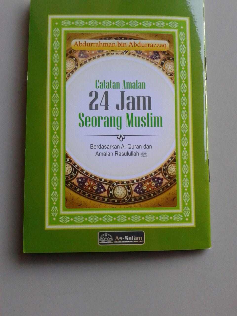 Buku Saku Catatan Amalan 24 Jam Seorang Muslim cover