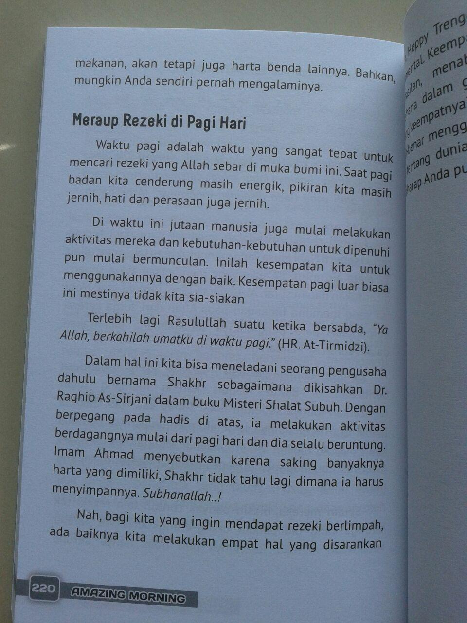 Buku Dahsyatnya Bangun Pagi & 7 Sunnah Harian isi 3