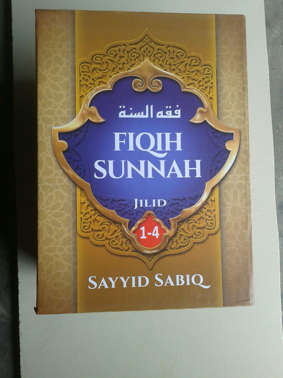 Buku Fiqih Sunnah Sayyid Sabiq Set 4 Jilid cover 3