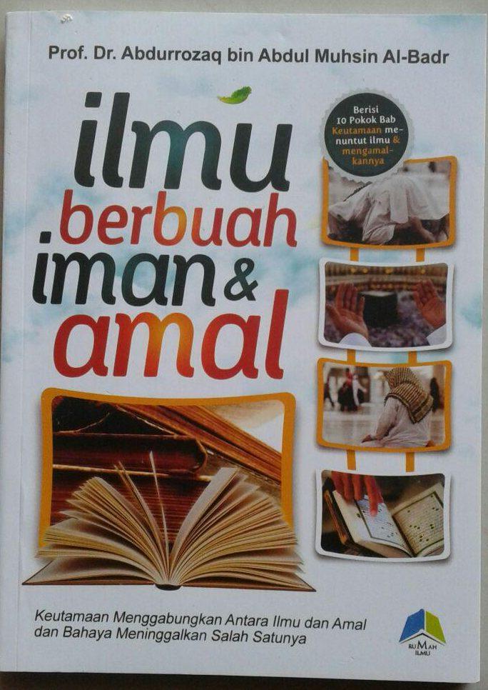 Buku ILmu Berbuah Iman & Amal cover 2