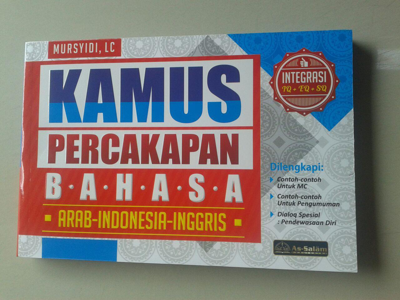 Buku Kamus Percakapan Bahasa Arab-Indonesia-Inggris cover 2