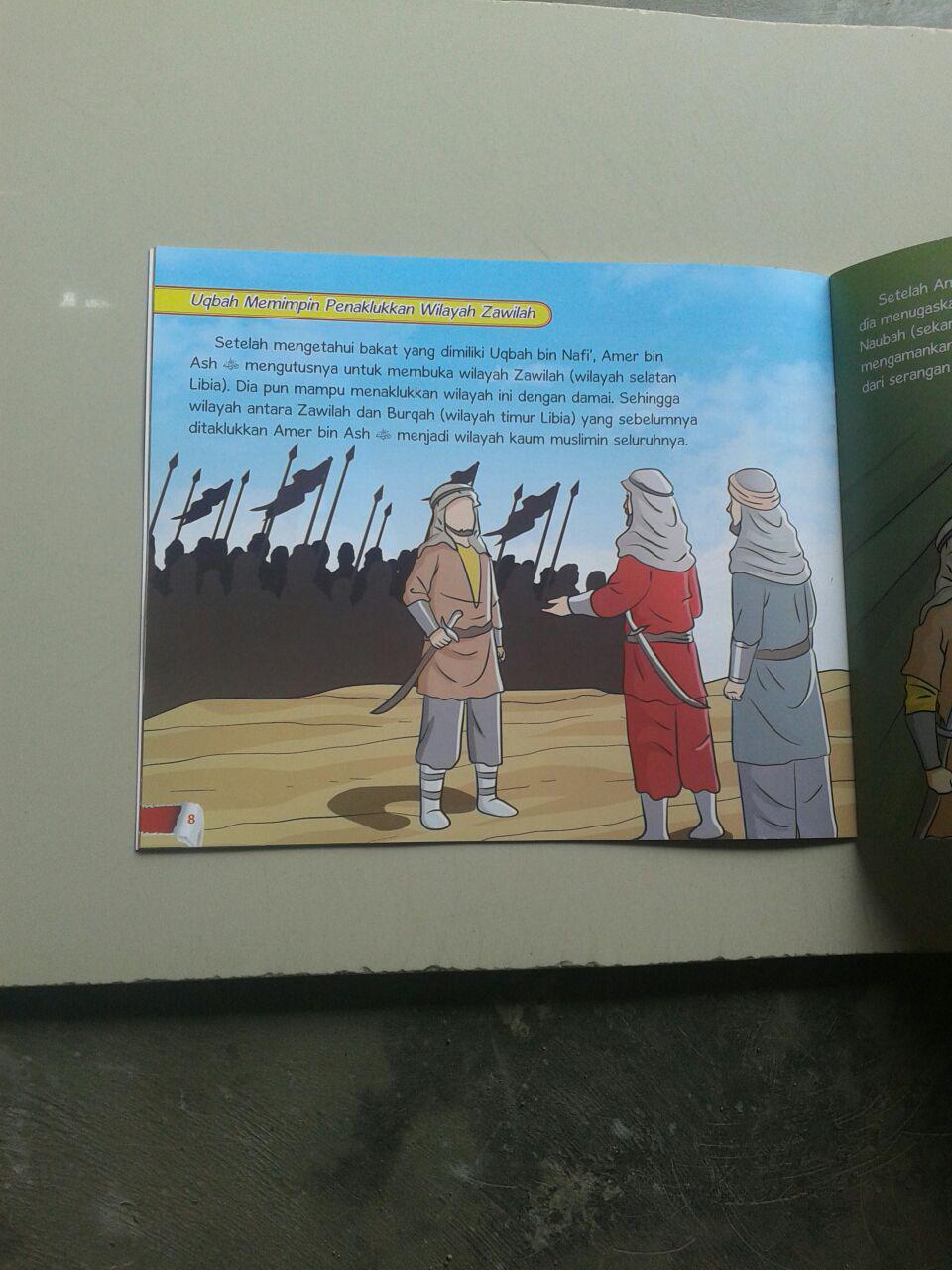 Buku Anak Ksatria Pilihan Allah Ta'ala Set 5 Jilid isi
