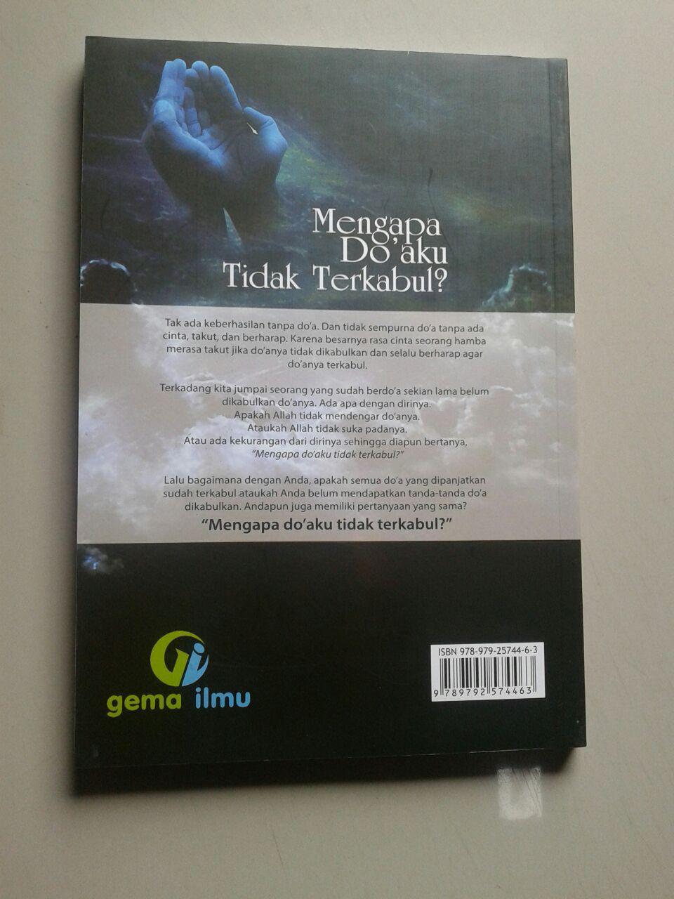 Buku Mengapa Do'aku Tidak Terkabul? cover