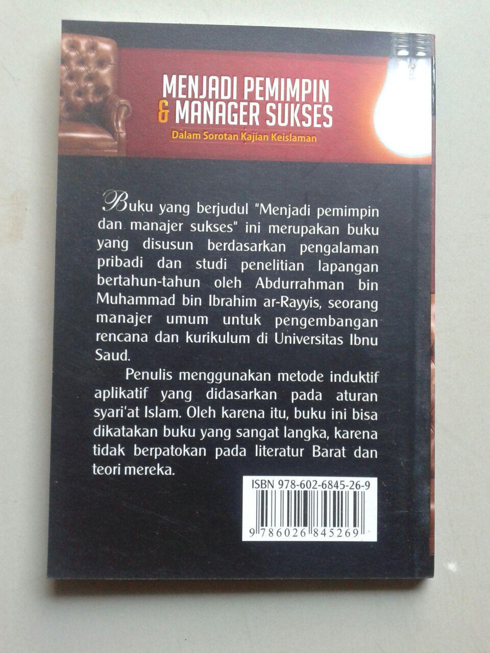 Buku Saku Menjadi Pemimpin & Manajer Sukses cover