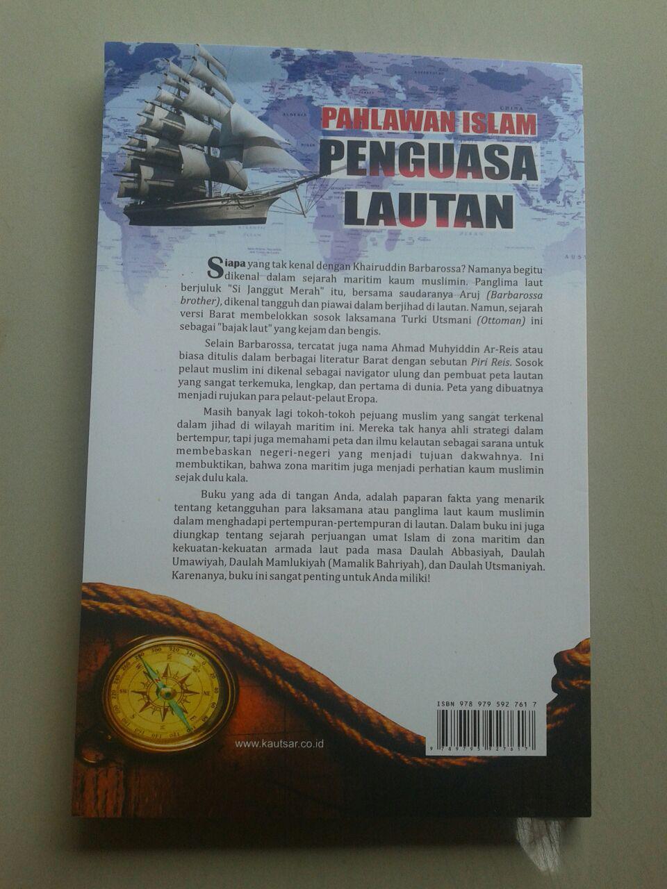 Buku Pahlawan Islam Penguasa Lautan cover