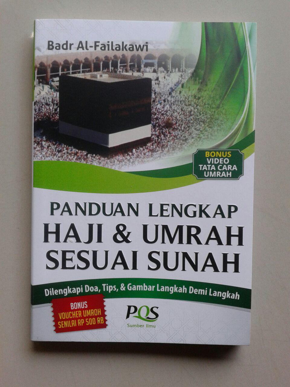 Buku Saku Panduan lengkap Haji & Umrah Sesuai Sunnah cover 2
