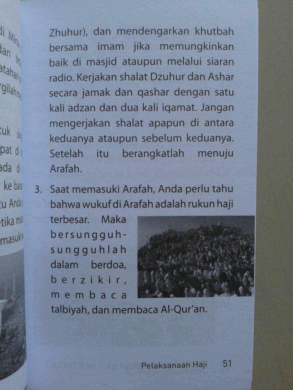 Buku Saku Panduan lengkap Haji & Umrah Sesuai Sunnah isi 3