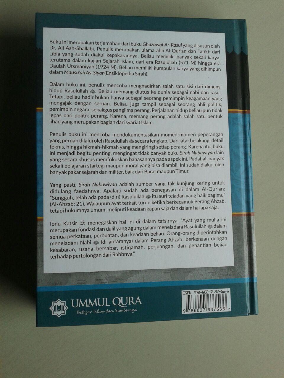 Buku Peperangan Rasulullah Shallallahu Alaihi wa Sallam cover